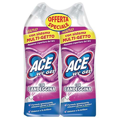 ACE WC Gel con Candeggina Bipacco - 2x700ml