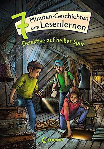Leselöwen - Das Original - 7-Minuten-Geschichten zum Lesenlernen - Detektive auf heißer Spur