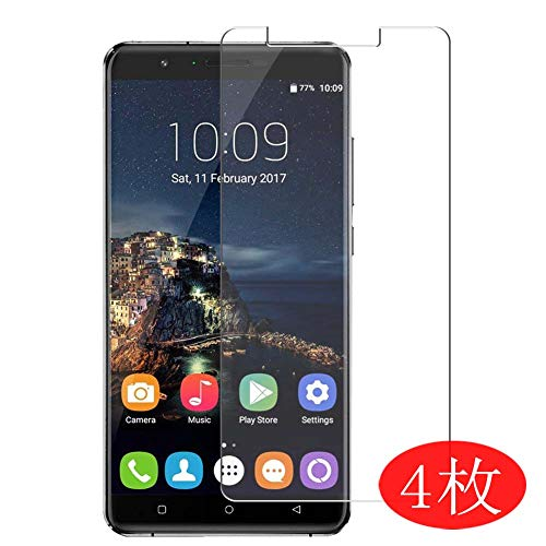 【4 Pack】 Synvy Screen Protector for Oukitel U16 Max 0.14mm TPU Flexible HD Clear Case-Friendly Film Protective Protectors [Not Tempered Glass] New Version