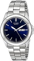 Citizen BF0580-57L  Quartz Day Date Blue Dial Men's Watch - Reviews