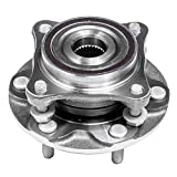 Front Wheel Hub and Bearing Assembly Left or Right Compatible Lexus GX460 GX470 Toyota Tacoma 4Runner FJ Cruisers AUQDD 515040 [ 6 Lug W/ABS 4WD AWD 4x4 ]