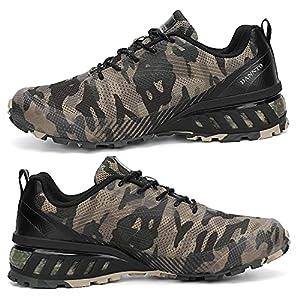 Dannto Men's Trail Running Shoes Outdoor Hiking Sneakers Walking Trekking Cross Training Camouflage,39,Size 7