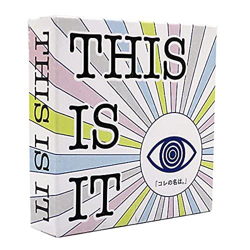 THIS IS IT コレの名は 1個 カードゲーム ワードゲーム ことば 言葉 知育玩具 お取り寄せ 所さんお届けものです