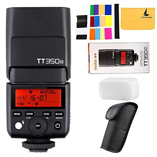 GODOX Mini TT350N 2.4G Kamera Blitz für Nikon D800 D700 D7100 D5200 D90