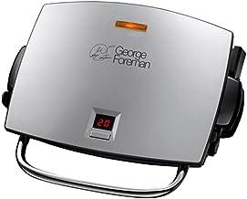 George Foreman Grill & Melt Grill, Afdruipbakje, Grilllen, Open Grillen, Minder vet, Smeltfunctie, 4 Porties, Uitneembare ...