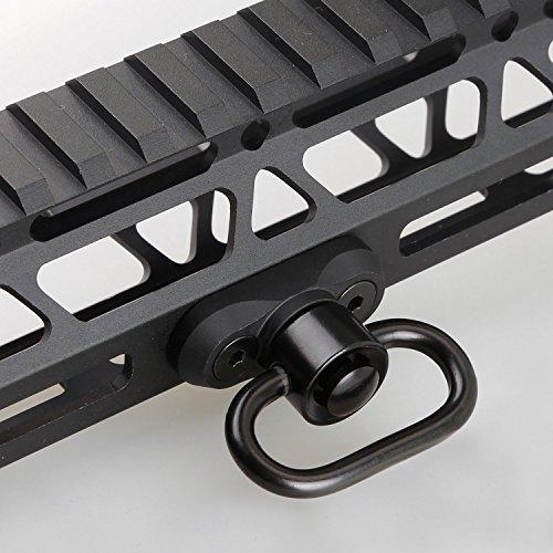 M-LOK(R) Standard QD Sling Swivel Adapter Rail Mount(QD Swivel is Included)