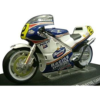 Ixo 1/24スケール バイクコレクション ホンダ NSR500 1987 ワイン・ガードナー
