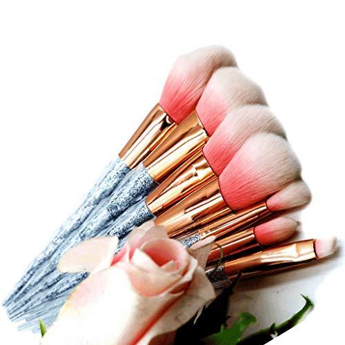 Perfect diary Brosse de Maquillage de Fond de Teint Pinceau de Maquillage Professionnel Blush Poudre Liquide mélangé Oeil anticernes kit Brosse de Maquillage A ++