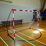 Quick Play Portable Handball But2.4 x 1.8 –Approuvé par Les européens de Handball