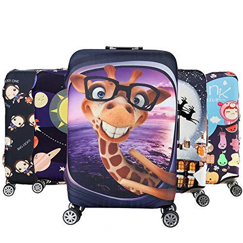 Honana Cartoon Cute Animal Elástica Maleta Cubierta de Maleta Cubierta Durable Protector de Maleta Para 18-32 Pulgadas Caso Caliente Accesorios de Viaje