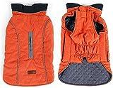 wkwk 6 Colores 7 tamaños Abrigo Reflectante para Perros Chaleco de Invierno Chaqueta Tipo Loft Resistente al Agua Traje de Nieve a Prueba de Viento Clima frío Mascotas Ropa para Perros
