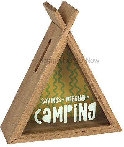 Camping Teepee Money Box (12/24)