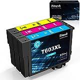 Timink 603 XL Cartuchos de Tinta Reemplazo de Epson 603XL Compatibles con Epson XP-2100 XP-2105 XP-3100 XP-3105 XP-4100 XP-4105 WF-2810 WF-2830 WF-2850 (3 Paquetes)