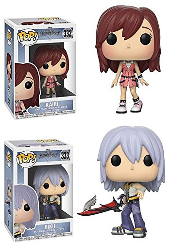 Funko POP! Disney: Disney Kingdom Hearts: Kairi + Riku