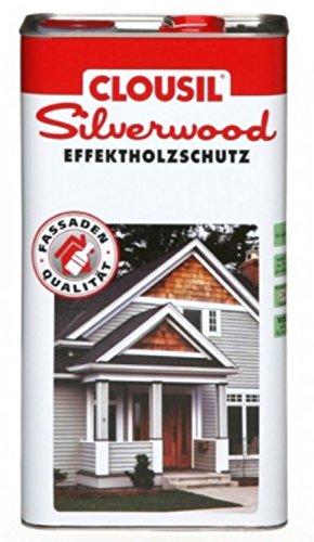 CLOU CLOUsil Silberlook Effektholzschutz eiche classic 0,75 Liter