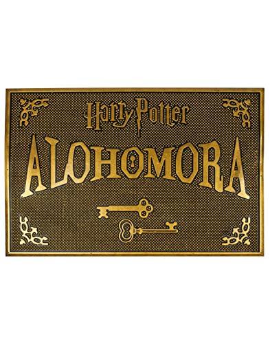 Alfombrilla de goma Alohomora de Harry Potter para bienvenida a casa, regalo HP