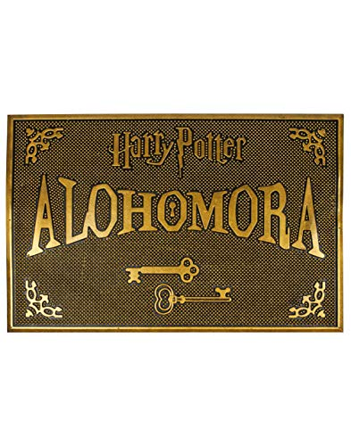 Harry Potter Paillasson Alohomora Rubber Welcome Home Mat HP Gift