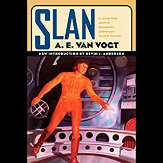 Slan audiobook cover art