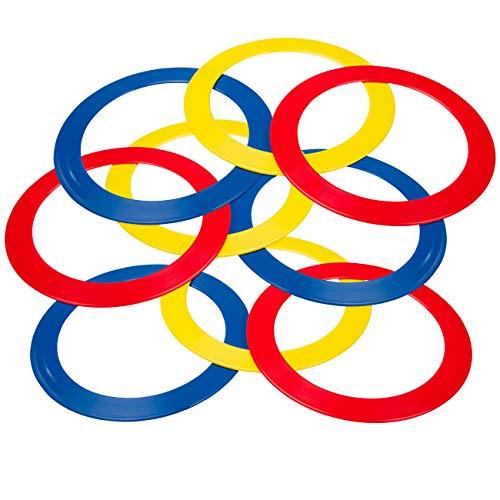 Trademark Innovations Juggling Ring - Professional Set of 9 Juggling Ring Pins