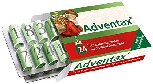 Adventax: 24 Entspannungshilfen für die Vorweihnachtszeit