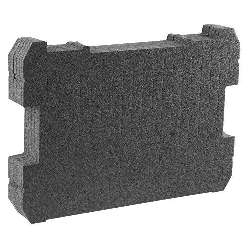 Stanley FatMax Schaumstoffeinlage (für PRO-STACK und TSTAK Werkzeugboxen von Stanley, individuelle anpassbar, 1 Stück) FMST1-72365