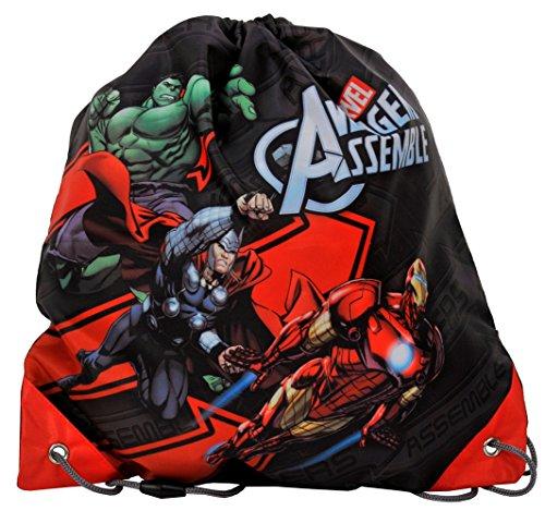 SACCA Marvels Avengers AVB Zaino borsa Sacchetto di asilo snack Sack Sacca ginnastica borsa per le scarpe [003]