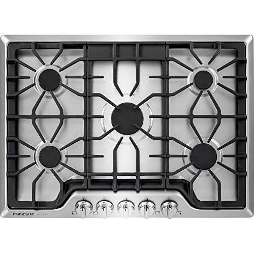 Frigidaire FGGC3047QS Gallery 30'' Gas Cooktop in Stainless Steel, 5 Burner