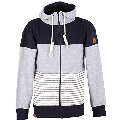Ziphood DREEFACH Navy/Ash/Striped
