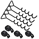 ZIZILAND Trampoline Anchor Kit, Heavy Duty Tie Down System with Spiral Ground Anchor...