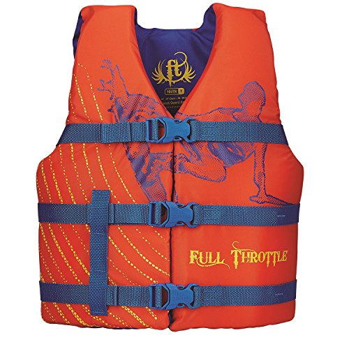 Save %33 Now! Full Throttle Youth Character Vest, Orange