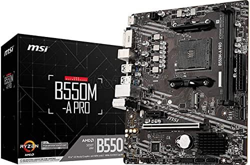 MSI B550M-A Pro Placa Base AMD B550 Zócalo AM4 Micro ATX