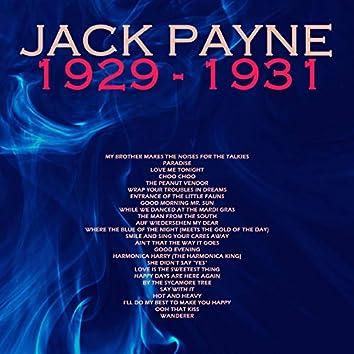 Jack Payne, 1929 - 1931