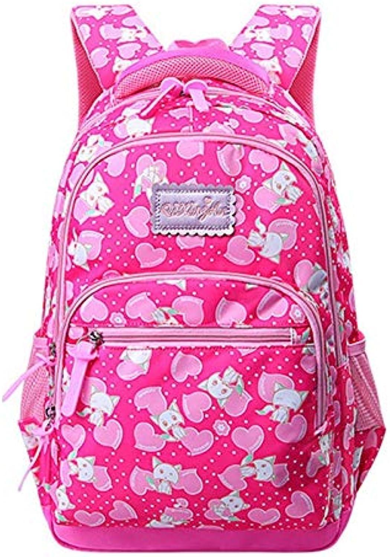 CPDSO Schultasche Leichte Kinderschultaschen Für Mdchen Orthopdischer Kinderrucksack Schulruckscke Schultaschentasche Reiverschluss