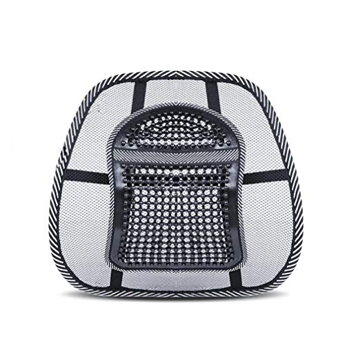 LUYIYI Car Cushion, Lumbar Support to Protect The Back, Lumbar Support, Breathable Backrest for Office and Vehicle