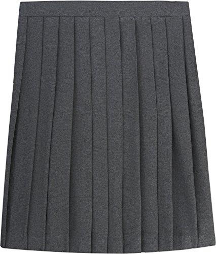 French Toast School Uniform Girls Pleated Skirt, Gray, 4