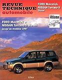 E.T.A.I - Revue Technique Automobile 586 - FORD NISSAN MAVERICK I/TERRANO II - 1993 à 1996