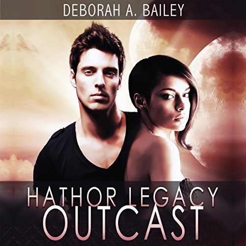 Hathor Legacy: Outcast audiobook cover art