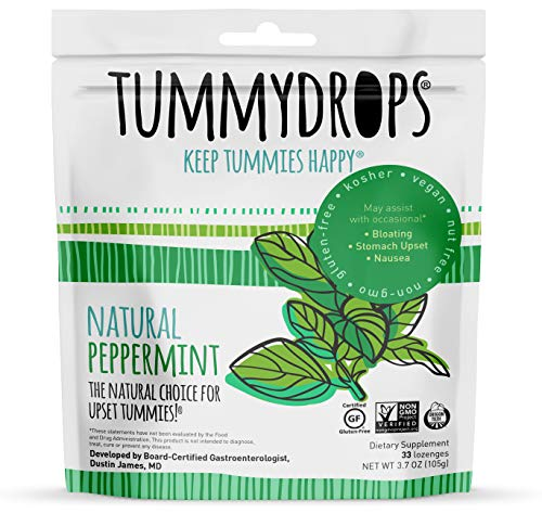 Tummydrops, Natural Peppermint, 30 Drops