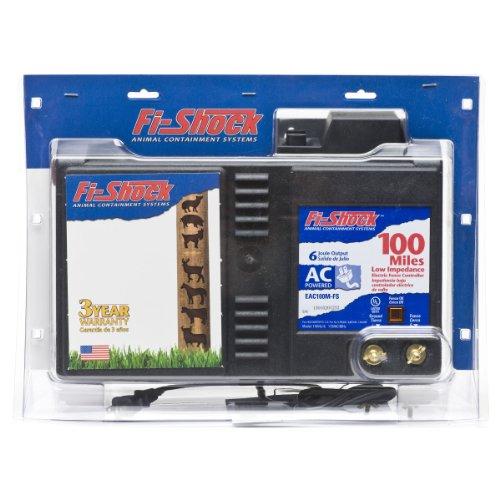 Fi-Shock EAC100M-FS AC Low Impedance Energizer, 100-Mile
