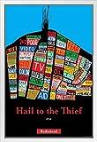 Pyramid America Radiohead Poster Hail to The Thief, Holz,