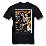 Shubin Cool The Smashing Pumpkins Men L Shirt with Round Neck Adult T-Shirt Black