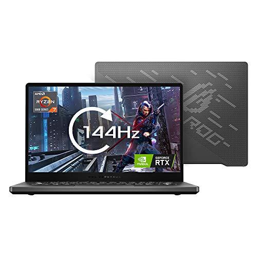 ASUS ROG Zephyrus G14 GA401QM 14' Full HD 144Hz Gaming Laptop (AMD Ryzen 9-5900HS, NVIDIAGeForceRTX3060, 16GB RAM (2x 8GB), 1TB SSD) Includes LED Lighting