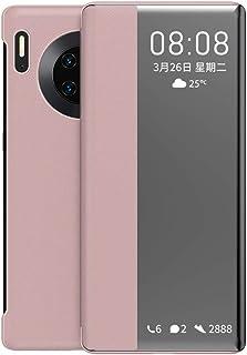 جراب XINKOE لهاتف Huawei Mate 30 Pro، مرآة طلاء رفيعة للغاية، غطاء حامل مضاد للانزلاق مضاد للسقوط ممتص للصدمات لهاتف Huawe...