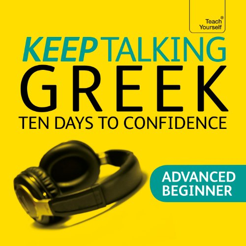 Keep Talking Greek audiobook cover art