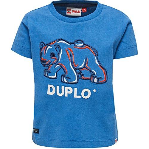 Lego Wear Duplo Boy Texas 601-T-Shirt T-Shirt, Bleu (552), 4 Ans Bébé Fille