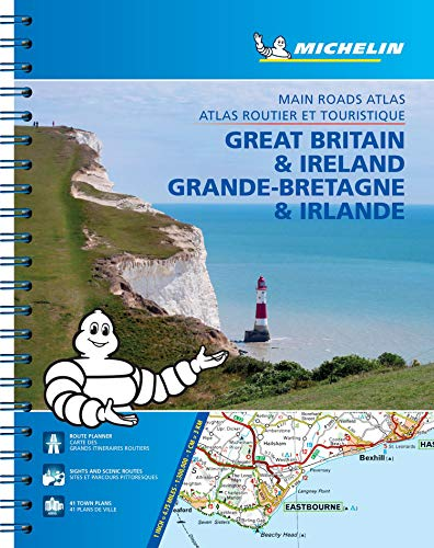 Great Britain & Ireland - Michelin Atlas A4 Spirale: Maßstab 1:300.000 (MICHELIN Atlanten)