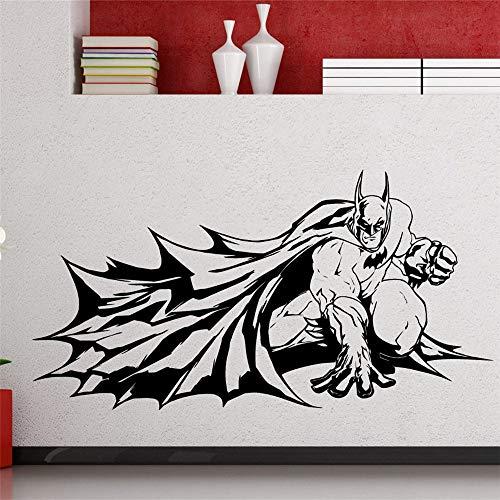 Zeichentrickfilm Batman Superhero Dark Knight Comics Wandaufkleber Kinderzimmer Wandaufkleber Schlafzimmer