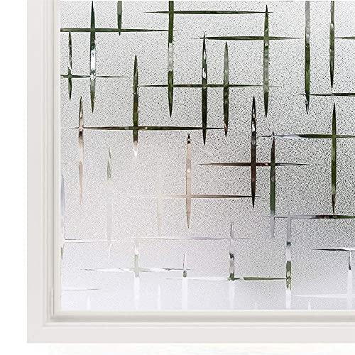 Fönster Privacy Film 3D Window Dekaler Fönsterklistermärke för glasdörr Hem Värmekontroll Anti UV (Color : 30x200cm)