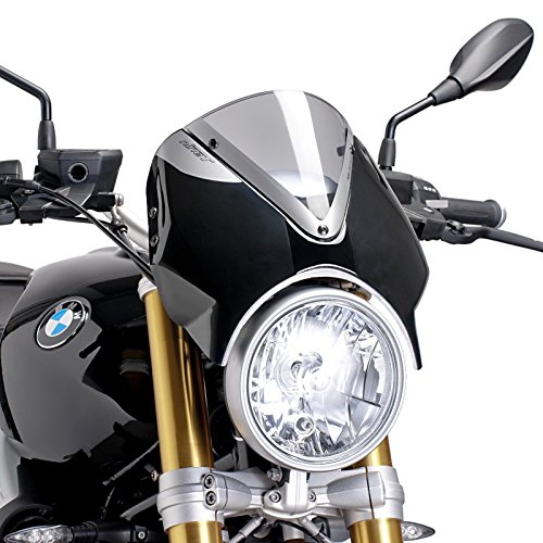 Windschild für BMW R NineT Pure 17-19 rauchgrau Puig 7012h