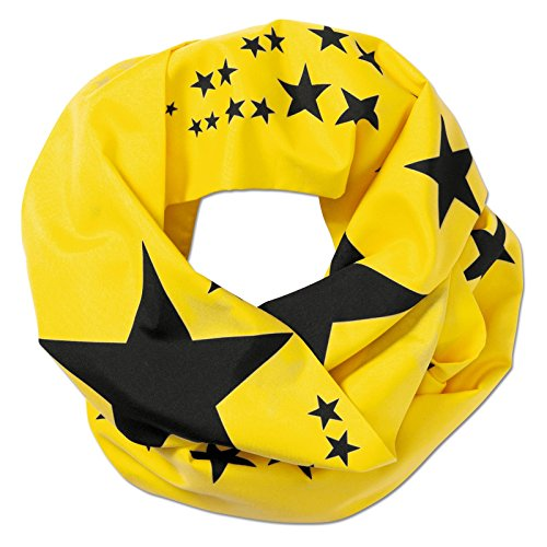 Borussia Dortmund Loopschal/Fanschal/Scarf BVB 09 - Plus gratis Aufkleber Forever Dortmund